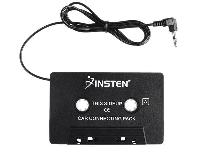 INSTEN 798733 Black Car Audio Cassette Adapter