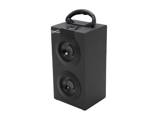SUPERSONIC SC-1313BT BLK Portable Speaker Bluetooth & Rechargeable Battery