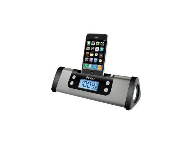 iHome Portable Clock Radio Dock GM iP16GVC