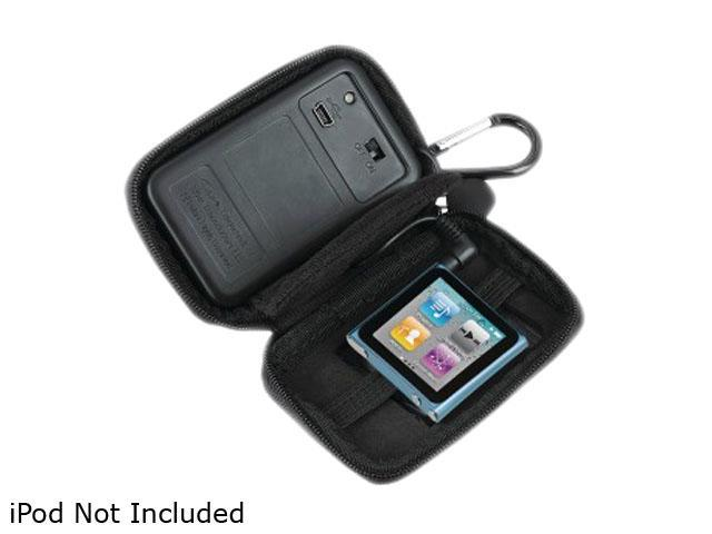 iHome IHM11BC iPod Nano 6G & iPod Shuffle Rechargeable Speaker Case