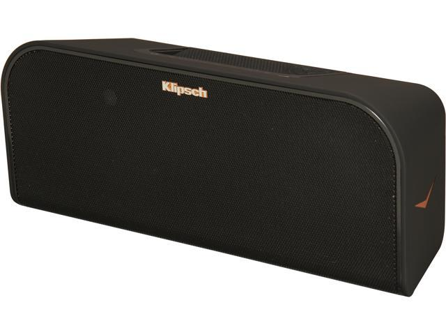 Klipsch Premium 2.1 Home/Portable Wireless Bluetooth Music System with Built-in Subwoofer - Black KMC 3 NA BK