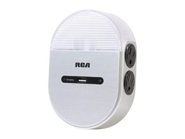 RCA Home Charging Station with Night Light POLNL42R