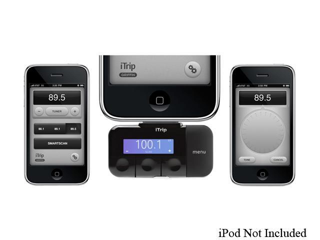 fm transmitter app iphone griffin itrip fm transmitter w app support for ipod 5802