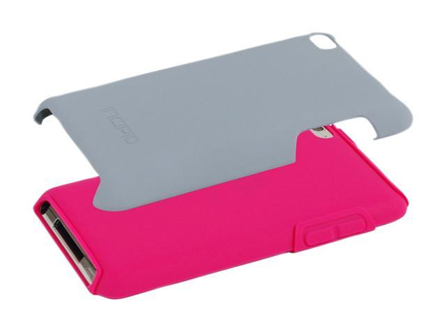 Incipio SILICRYLIC Pink/Silver Hard Shell Case with Silicone Core For iPod touch 4G IP-905