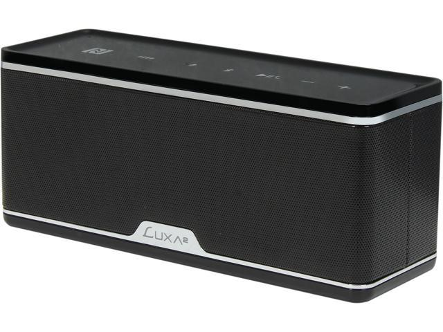 Luxa2 GroovyW Bluetooth Speaker with Wireless Charging Station and APP - AD-SPK-PCXCBK-00
