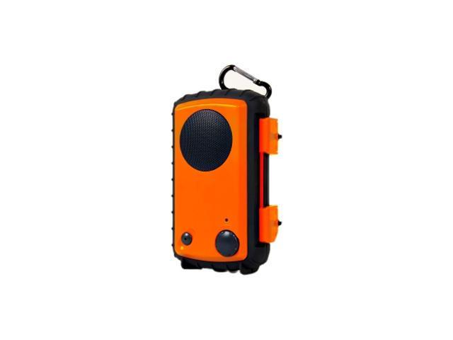 GRACE  Eco Extreme  Rugged All Terrain Speaker Case (Orange Peel) GDI-AQCSE100