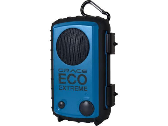 GRACE GDI-AQCSE102 Rugged All Terrain Speaker Case (Cobalt Blue)