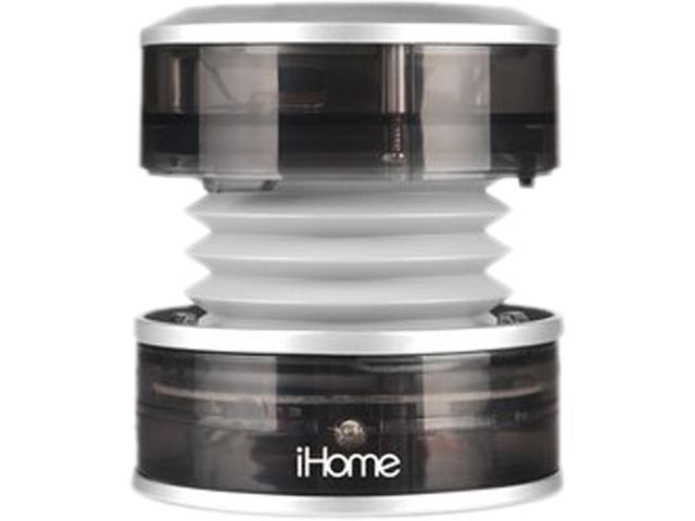 iHome IM60GT Portable Speaker (Gray Translucent)