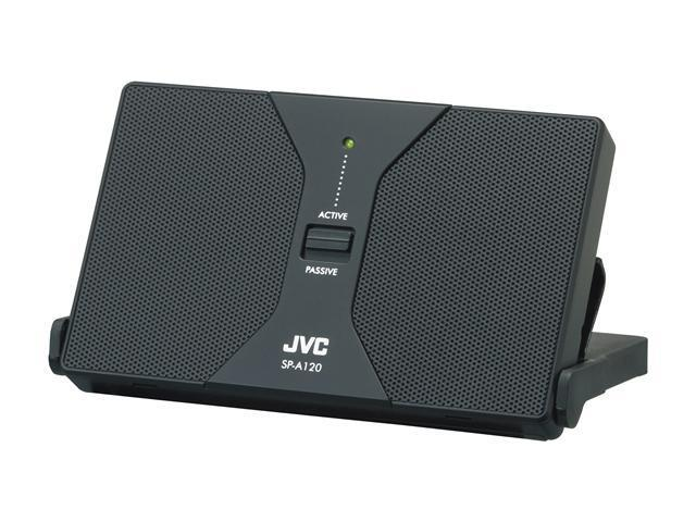 JVC SP-A120B Portable Stereo Speaker System - Black