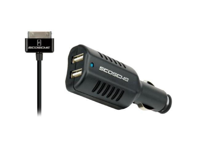 Scosche reVIVE pro Dual USB Car Charger for iPod & IPhone                                                              ICK