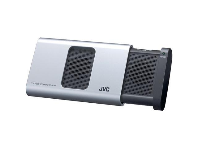 JVC  Portable Speaker System (Silver) SP-A130S