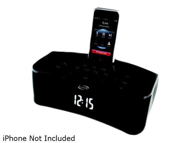 iLive iPod/iPhone Clock Radio ICP310B