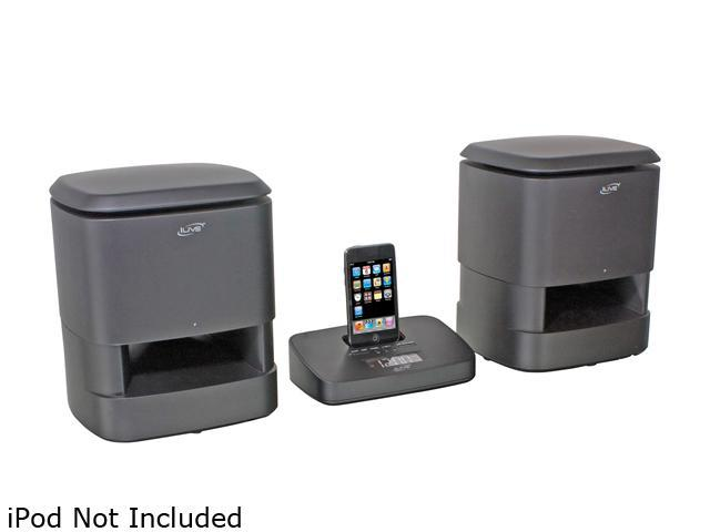 iLive Wireless Music System with Dock for iPod IS809B