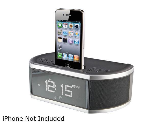 iLive Clock Radio for iPhone/iPod ICP200B