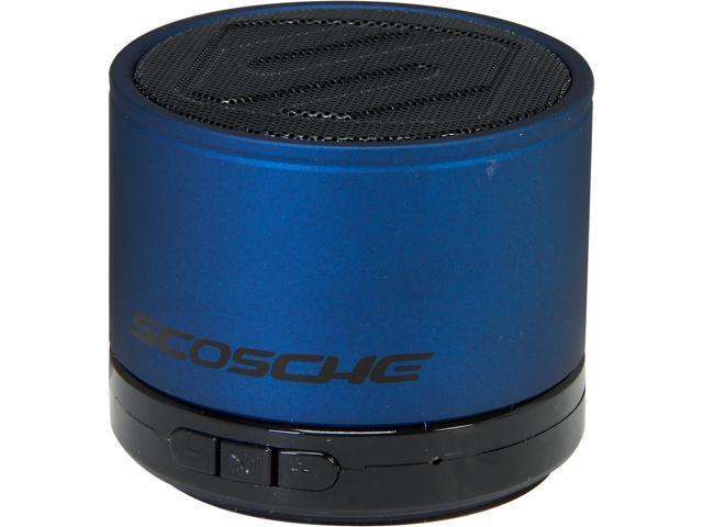Scosche BTSPK1BL Bluetooth Micro Portable Speaker Blue