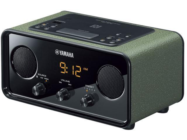 yamaha bluetooth desktop clock radio alarm system tsx b72dgn. Black Bedroom Furniture Sets. Home Design Ideas