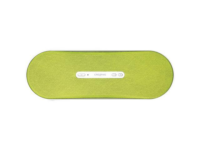 Creative D100 Pure Wireless Bluetooth Speaker System (Green)
