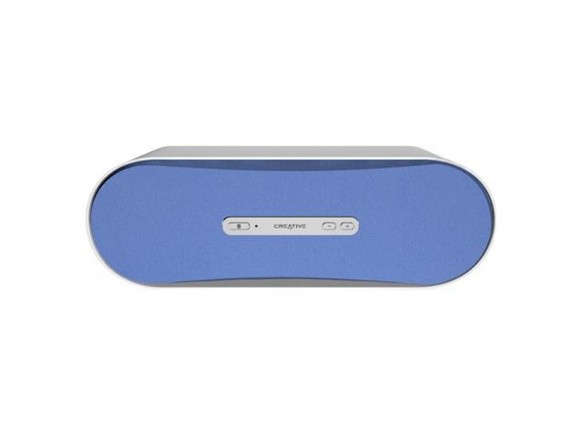 Creative D100 Pure Wireless Bluetooth Speaker System (Blue)