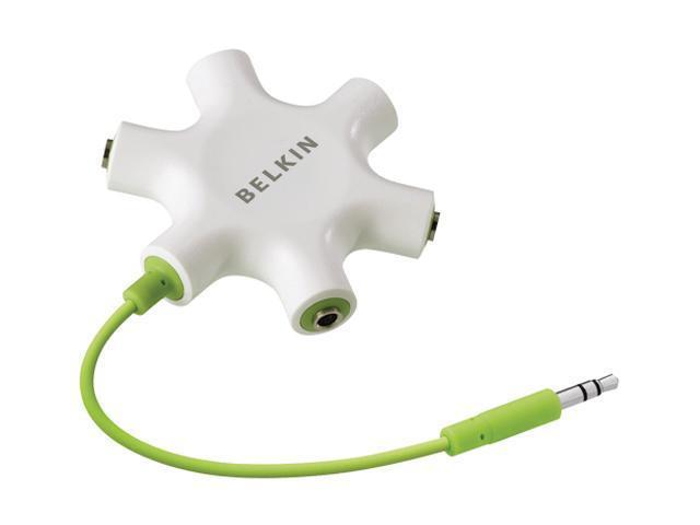 Belkin F8Z274ttP iPhone Mini Stereo Dub Cord 3.5MM Stereo