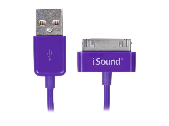 i.Sound Charge/Sync Cable for iPod/iPhone/iPad ISOUND-1634