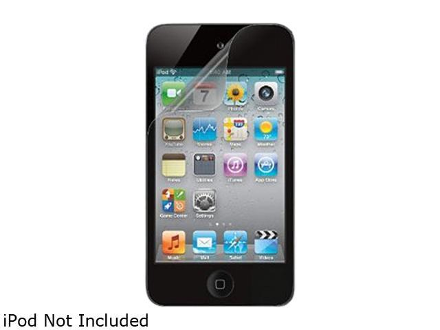 Belkin 2 Pack Screen Guard Anti-Smudge Overlay For iPod Touch 4G F8Z872tt2