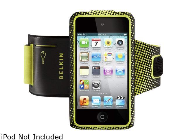 Belkin Profit Convertible Armband Neoprene Case for Apple iPod Touch 4G F8W017EBC00