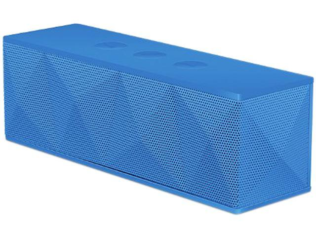 i.Sound ISOUND-5241 Blue Pyramid Rechargeable Bluetooth Speaker System with Speakerphone