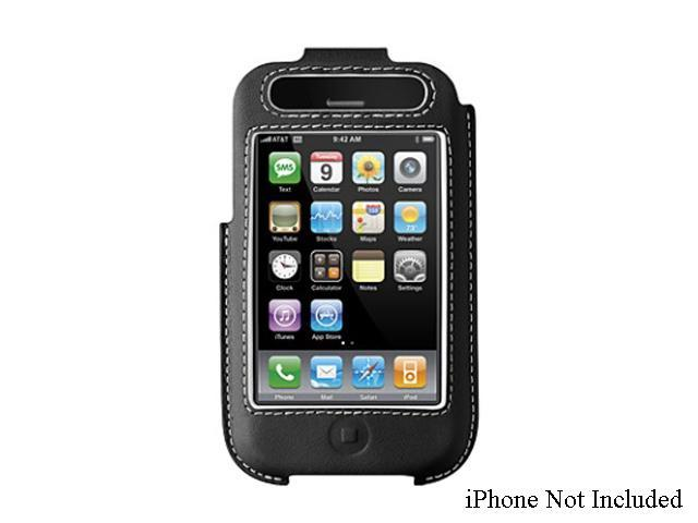 BELKIN Formed Leather Case Black for iPhone 3G/3GS (F8Z338)