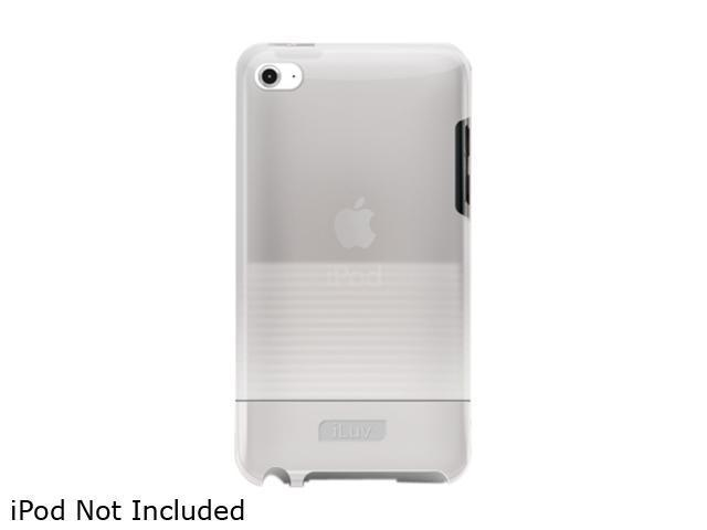 iLuv Tinted PC Case with Soft coating for iPod Touch 4th Gen,white iCC618WHT