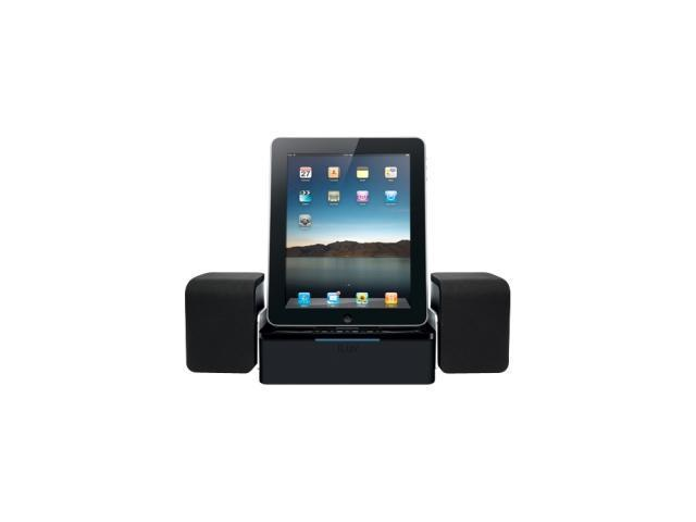 iLuv iMM747BLK Hi-Fidelity Speaker Dock (Black) for iPad, iPhone, and iPod
