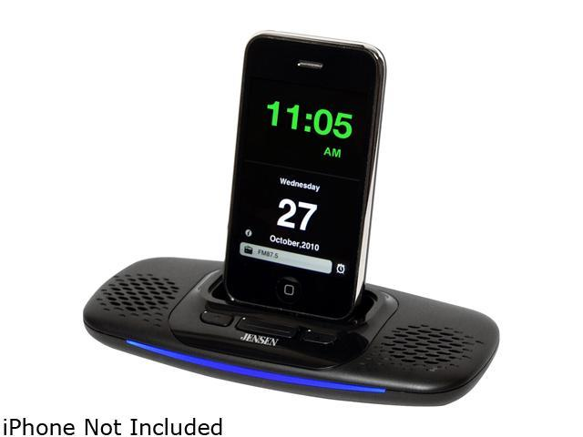 JENSEN JiSS-10i Docking Speaker System with App for iPod and iPhone