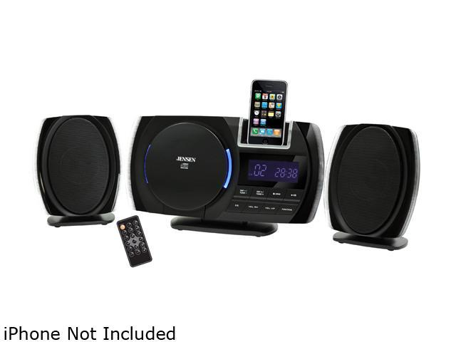 JENSEN Docking Digital Music System with CD for iPod and iPhone JiMS-260i