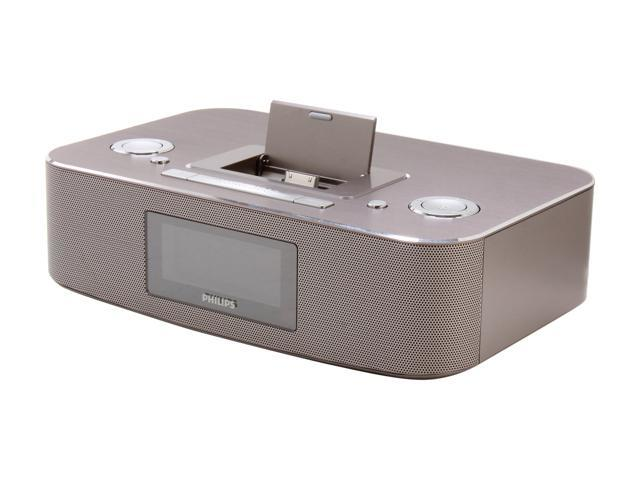Philips DC290/37 30-Pin iPod/iPhone Alarm Clock Speaker Dock
