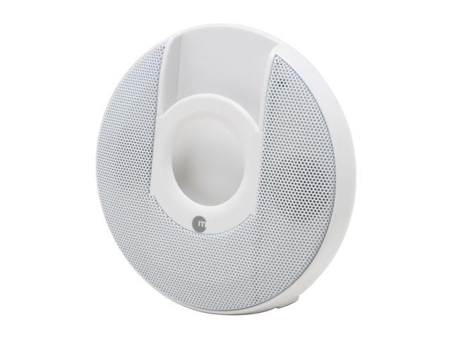 Macally Portable Stereo Speakers for iPod nano (White) IP-N111