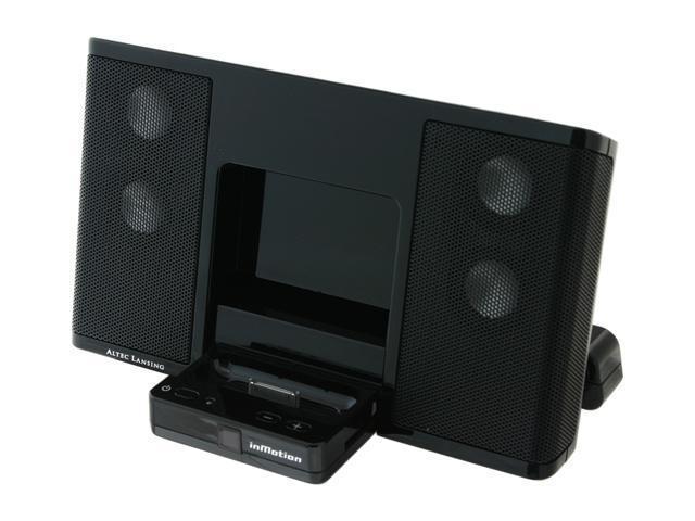 ALTEC LANSING inMotion Portable Audio for iPod and iPod mini Model iM3CBLK