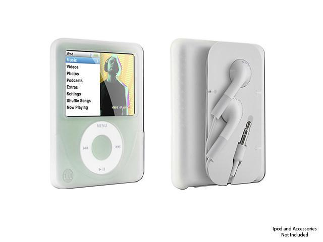DLO Jam Jacket with Cord Management for 3rd Gen iPod nano - clear Model 009-8410