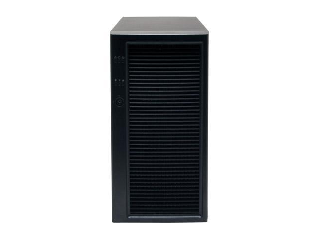 "Intel SC5300BRPNA Black Pedestal or 5U Rack-Mount Server Case 730W 3 External 5.25"" Drive Bays"