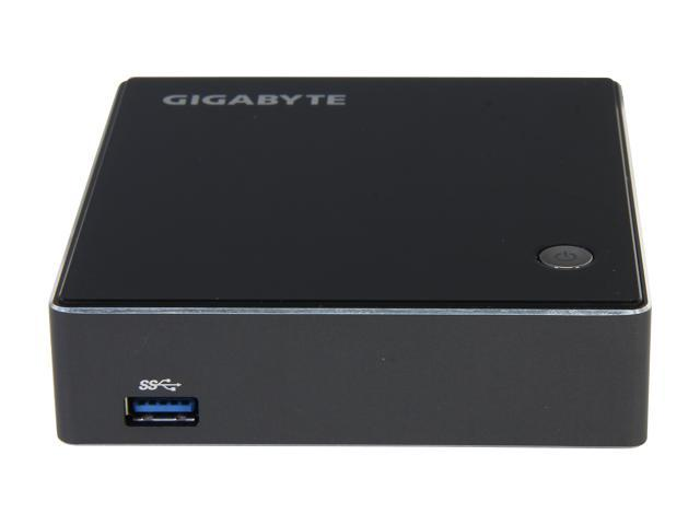 GIGABYTE BRIX GB-XM12-3227 Intel HM77 Core i3-3227U 1.9GHz Integrated HD Graphics 4000 by CPU Black Mini / Booksize Barebone System