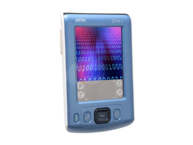 palm Zire 31 PDA Intel ARM-based processor 200MHz 160 x 160 Color STN IrDA