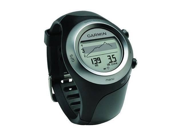 """GARMIN 1.06"""" GPS-Enabled Sport Watch W/ Heart Rate Monitor"""