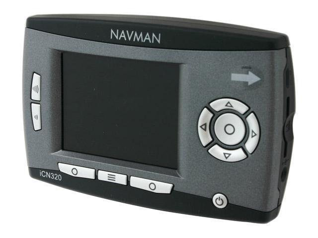 """NAVMAN iCN 320 2.8"""" In-Car Navigation system"""