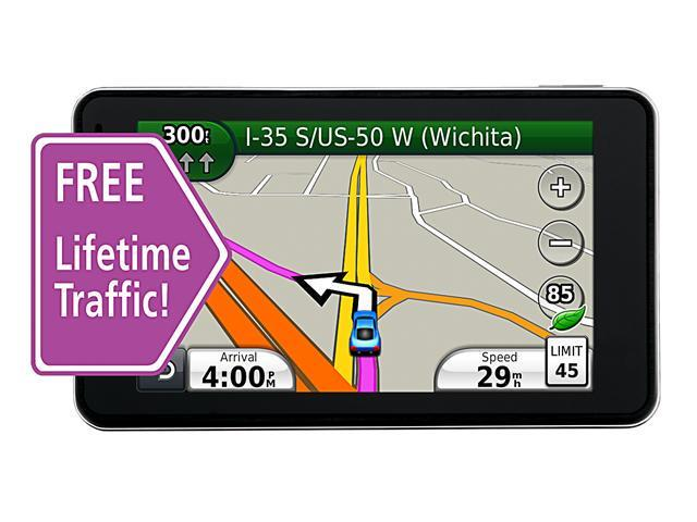 "Garmin Nuvi 3760T 4.3"" GPS Navigation with Lifetime Traffic"