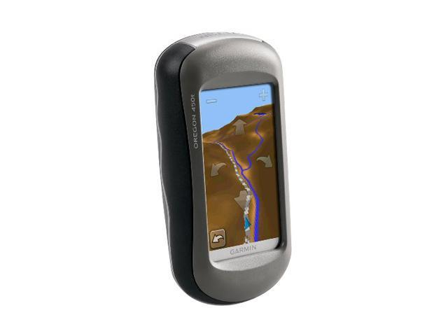 "GARMIN Oregon 450t 3.0"" Handheld GPS Navigation"