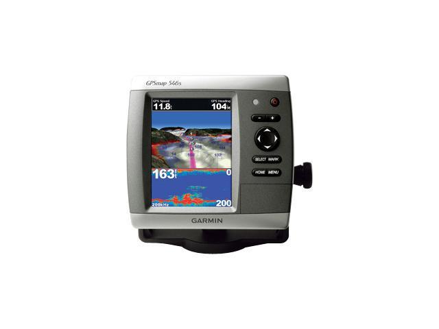 "Garmin 5.0"" Marine GPS Navigation with Dual-Frequency Tranducer"