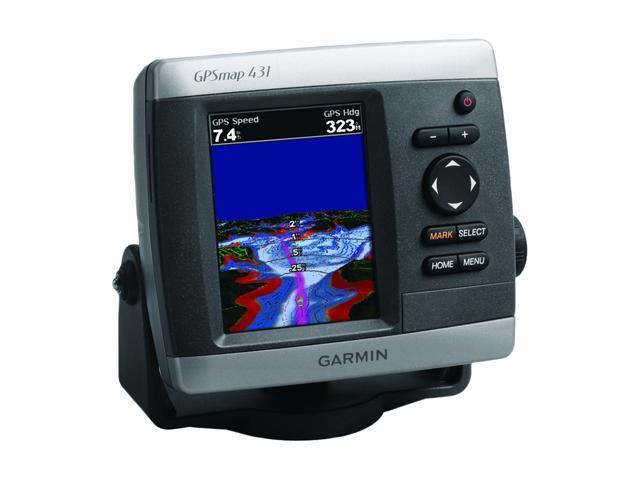 "Garmin GPSMAP 431 4.0"" Marine GPS Navigation"