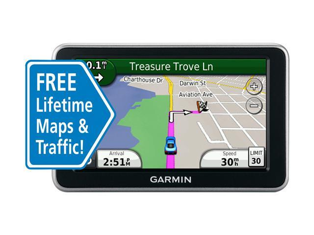 "GARMIN 4.3"" GPS Navigation with Lifetime Traffic & Map Updates"