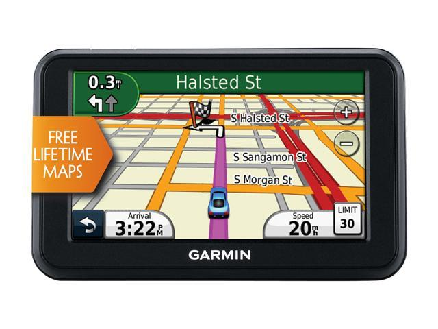 "GARMIN 4.3"" GPS Navigation w/ Lifetime Map Updates"