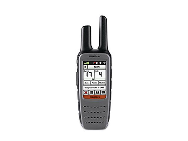 "GARMIN 2.6"" Handheld GPS Navigation w/ Two-Way Radio"