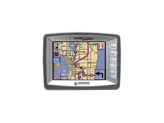 "LOWRANCE iWay 500c 5.0"" GPS Receiver"