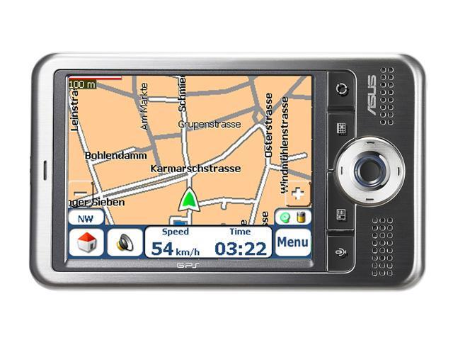 "ASUS A696 3.5"" Ultra Slim GPS Sparkles with High Quality Feel"